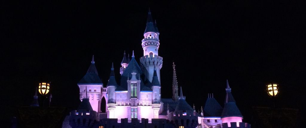 Disneyland Castle Night